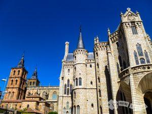 Catedral de Santa María (AStorga) y Palacio Episcopal