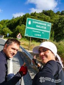 ¡Entrando en Galicia!