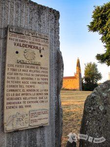 Hito e Iglesia de Valdemerilla
