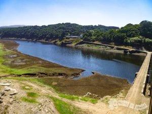 Río Miño. Población sumergida (Portomarín)