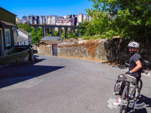 Entrando en Lugo