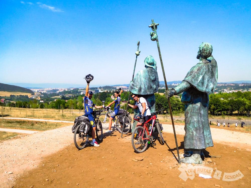 Monumento de los Peregrinos Medievales