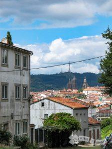Vistas de la Torre de la Catedral desde la Calzada de Sar