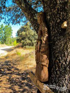 Tallas religiosas en el camino