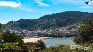 Playa de la Magdalena y Pontedeume