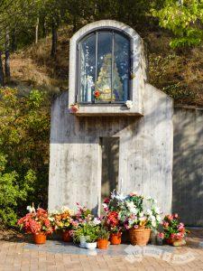 Hornacina de con la Virgen del Rocío