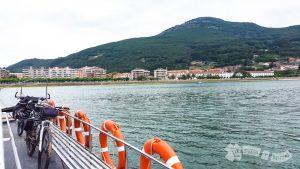 Vistas de Santoña desde la embarcación