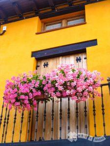 Balcones en Redecilla del Camino