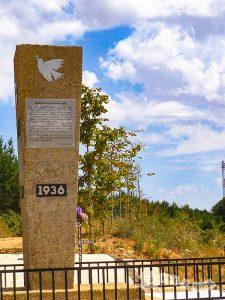 Monumento conmemorativo a los fallecidos durante la Guerra Civil en 1936