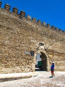 Muralla Almohade y Puerta del Rey