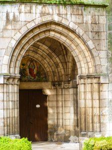 Portada de la Iglesia de las Salesas