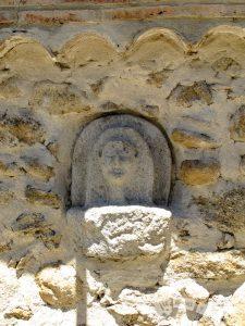 Detalle en Aldeanueva del Camino