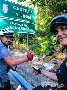 Entrando en Castilla y León