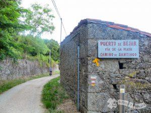 Saliendo de Puerto de Béjar