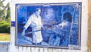 Mural de Azulejos (Especialidad cochinillo)