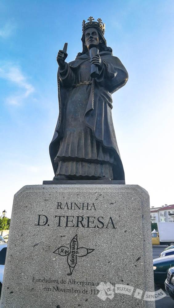 Talla de la Reina Teresa