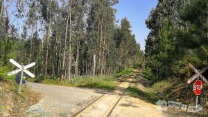 Cruce de línea ferroviaria
