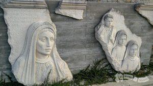 Escultura en Castelo do Neiva