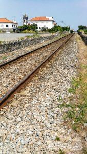 Ferrocarril en Carreço