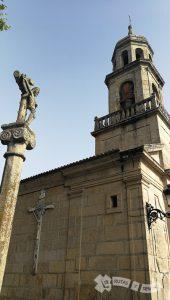 Crucero e Iglesia de San Andrés de Comesaña