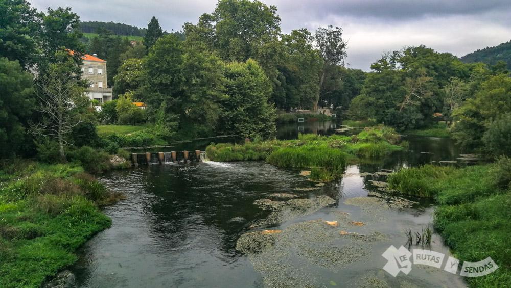 Río Umia (Caldas de Reis)