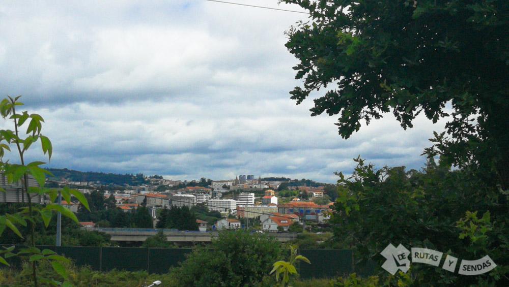 Vistas de Santiago de Compostela (O Porto de Conxo)