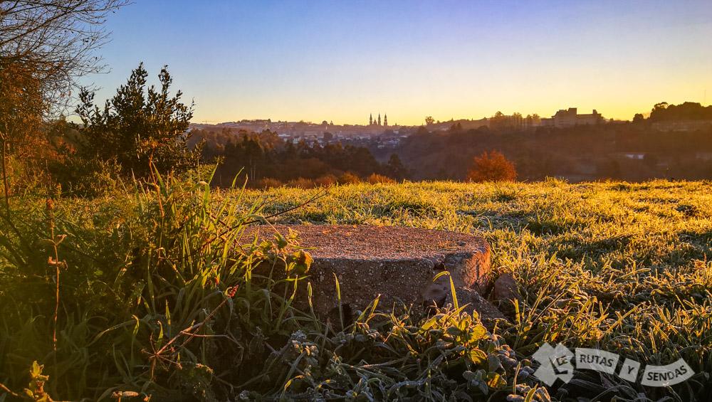 Vistas de Santiago de Compostela