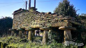 Hórreo en ruinas