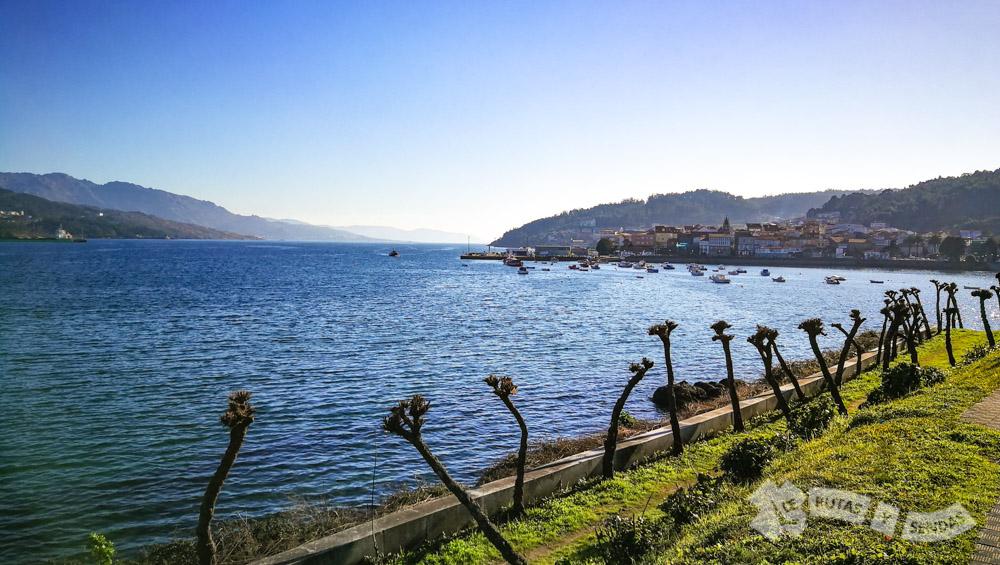 Corcubión, su ría y su puerto