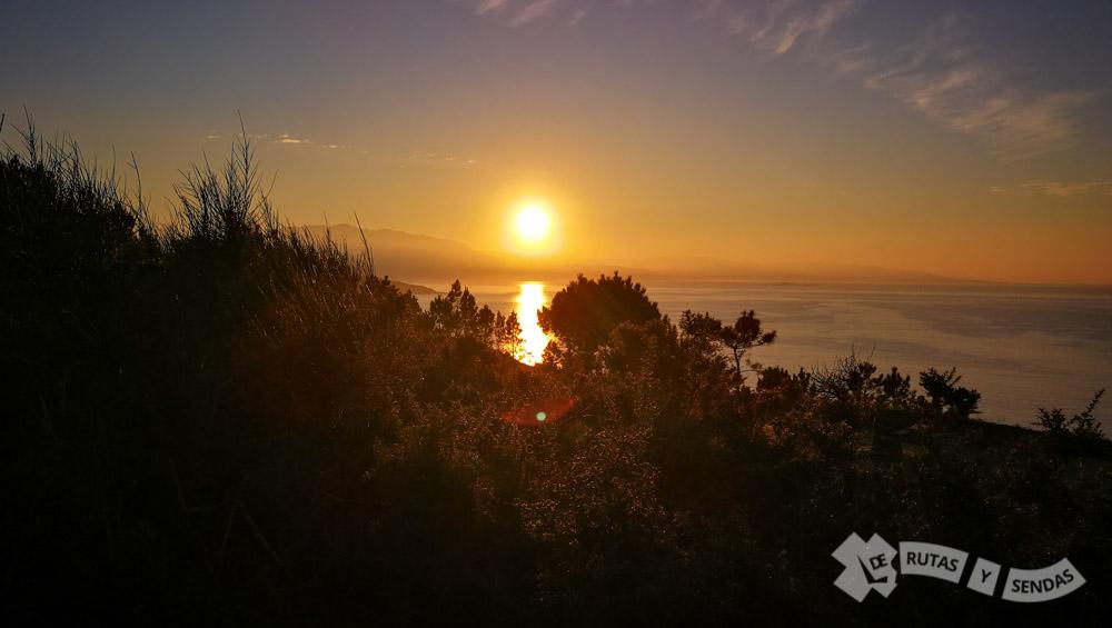 Vistas del Atlántico y la Ría de Corcubión