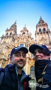 Regreso y final en Santiago de Compostela