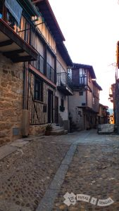 Calles de Miranda del Castañar