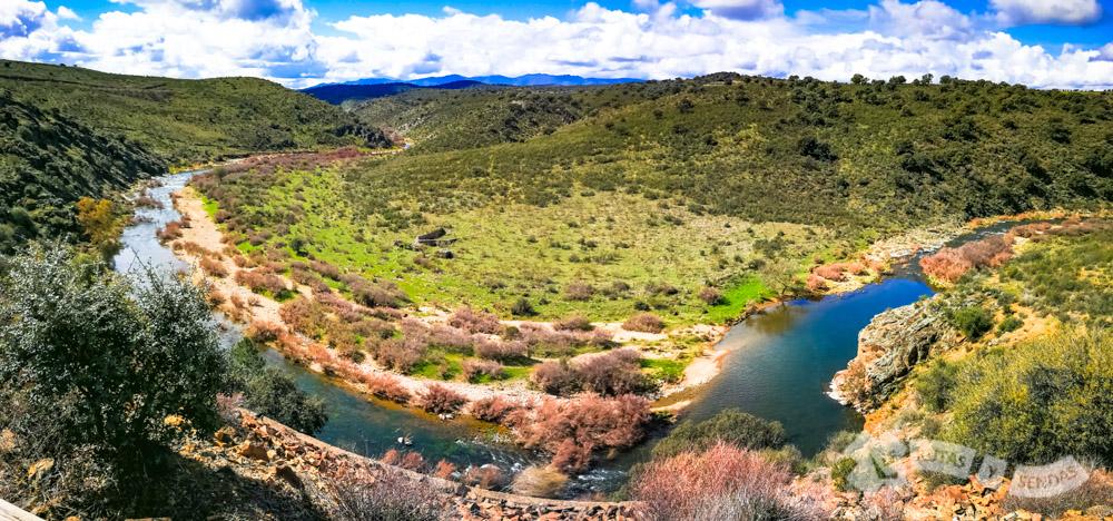 Meandro del Río Huso