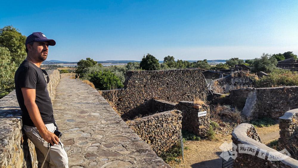 Vistas del recinto desde la muralla