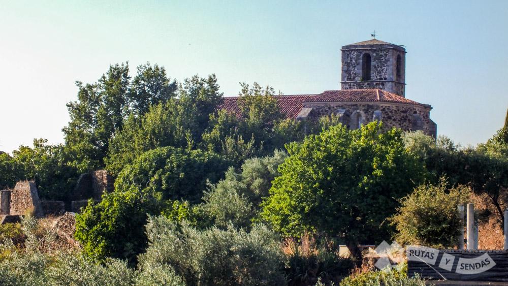 Tejados y torre de la Iglesia de la Asunción
