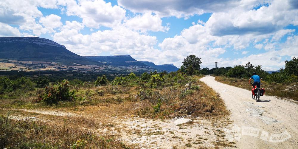 Entrando en el Valle de Sotoscueva