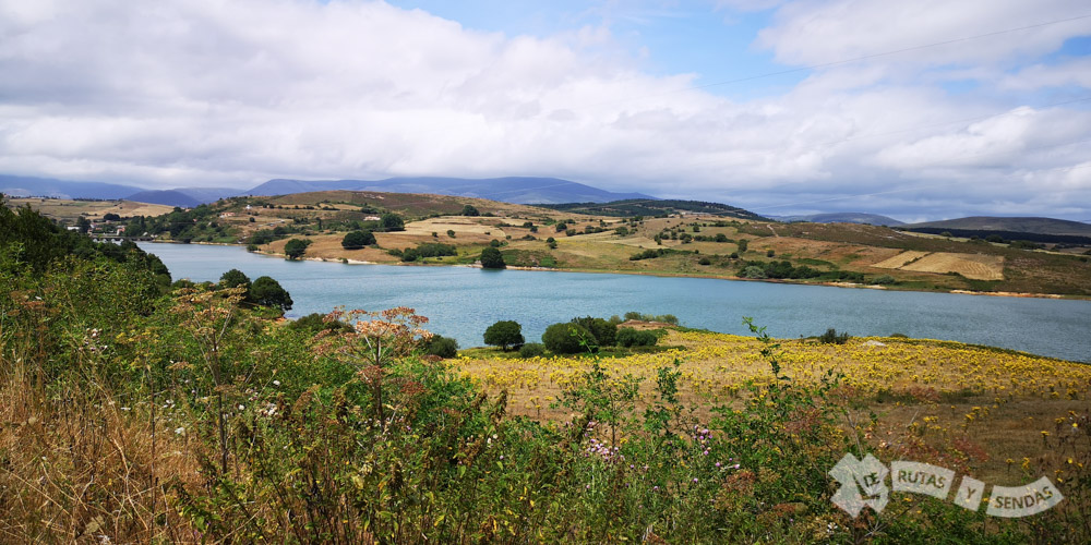 Paisajes del Pantano del Ebro