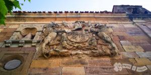 Capilla de Santa Ana y escudo del linaje Calderón de la Barca