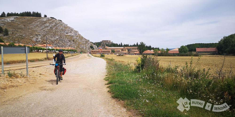 Saliendo de Aguilar de Campoo