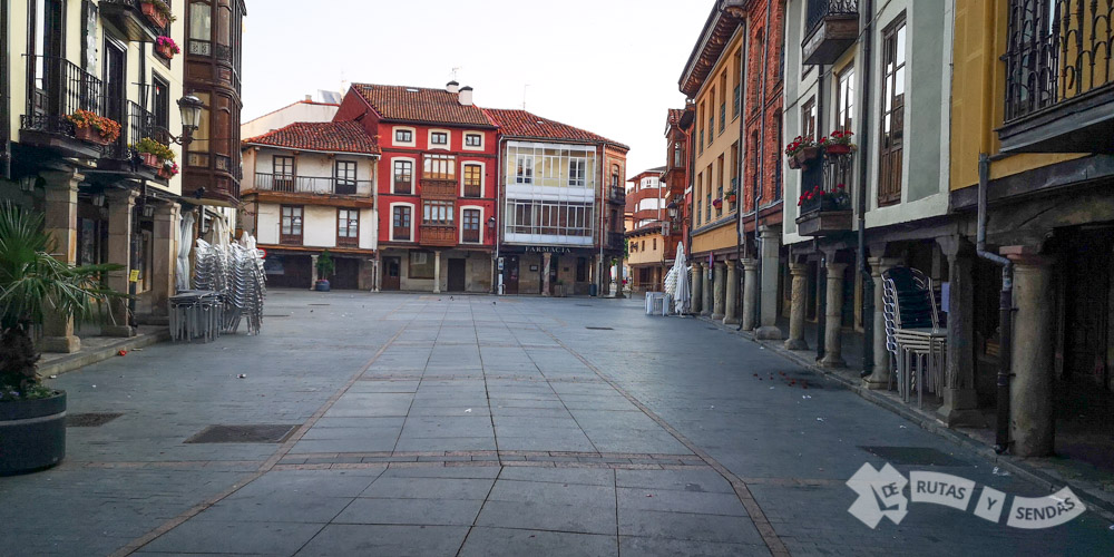 Plaza Mayor de Cervera de Pisuerga