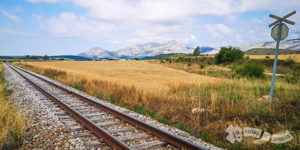 Vía de Ferrocarril La Robla-Bilbao
