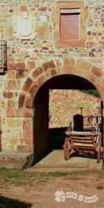 Detalle de arquitectura tradicional