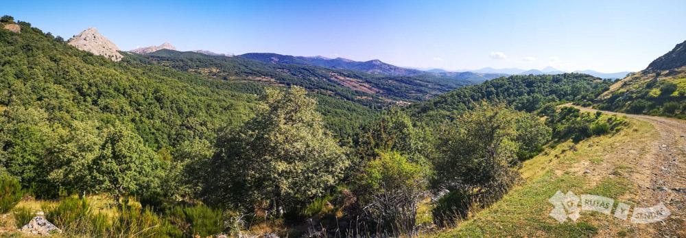 Ascenso por la vertiente norte del Macizo de Peñacorada