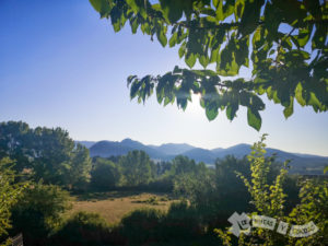 Valle de Boñar y las cumbres de la Sierra de la Fuentina