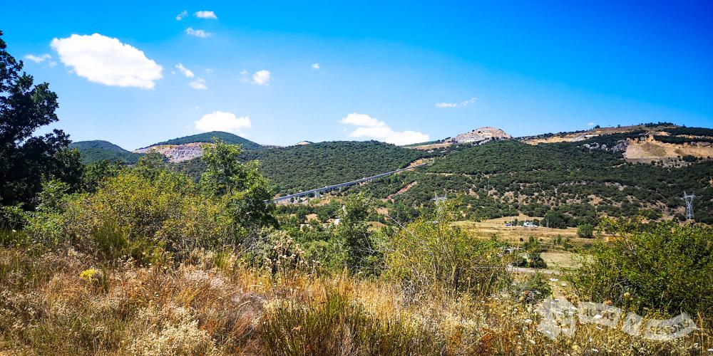 Ascenso desde Llanos de Alba