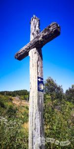 Cruz y señal del Camino