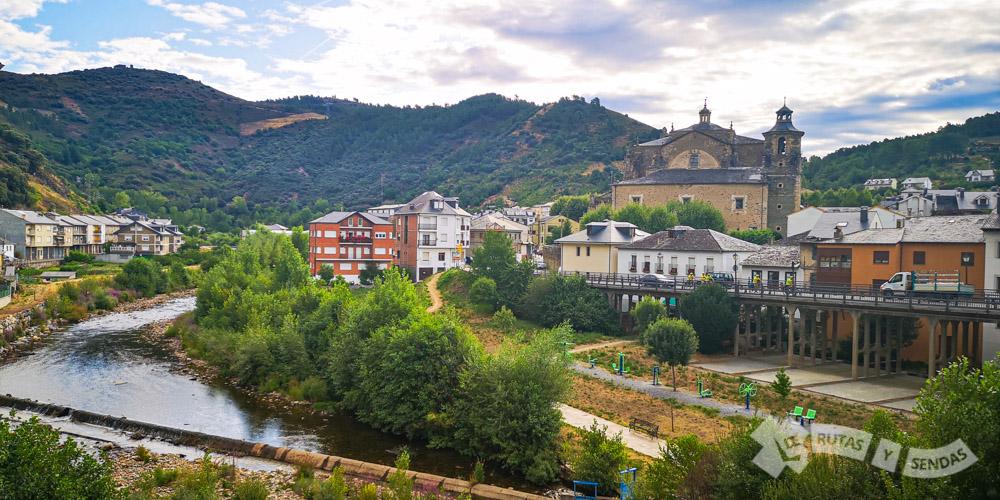 Río Burbia desde el Puente Fuente Quintano