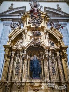 Retablo en la Iglesia Monacal