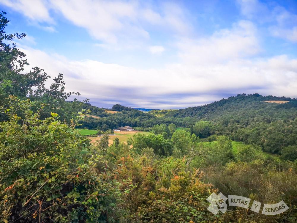 Vistas de las vegas del Sarria