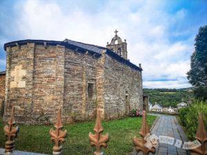 Iglesia de Santa Uxía de Pascais